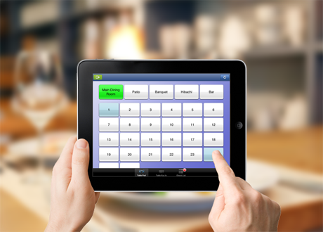 wavesoft ordering software on Apple iPad