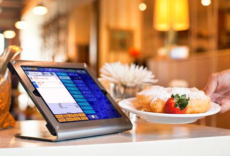 restaurant software on Apple iPad