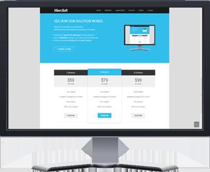Wavesoft website on computer